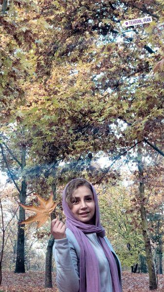 عکس پاییزی شبنم قلی خانی