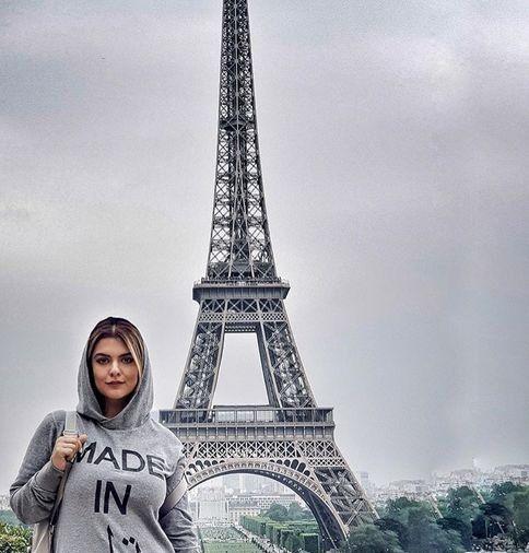 عکس رویایی دنیا مدنی با برج ایفل