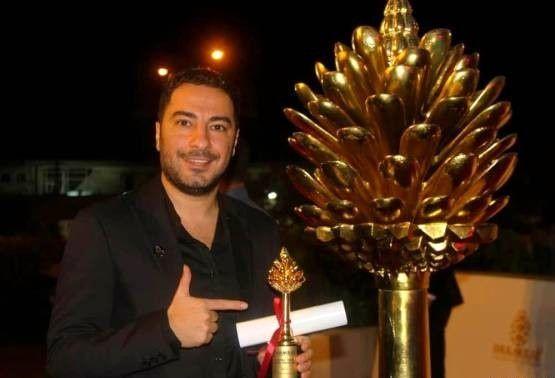 نوید محمدزاده  بهترین بازیگر مرد درجشنواره فیلم سلیمانیه
