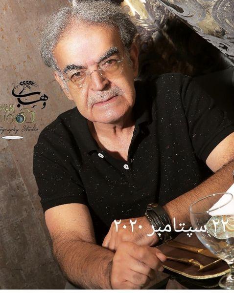 ظاهر جدید حمید لولایی + عکس
