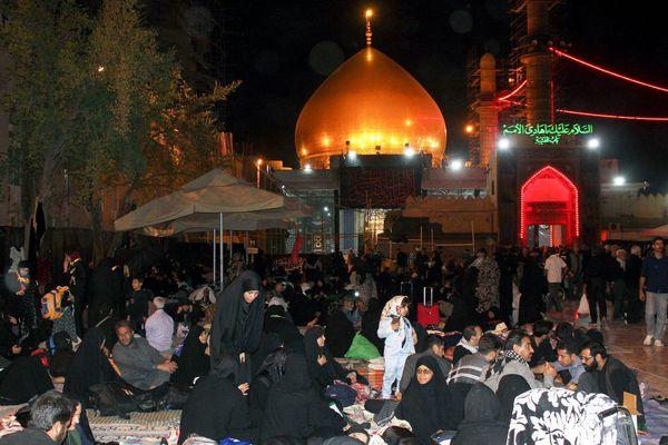 آغاز میزبانی موکبهای ایرانی و اهل تسنن سامراء از زائران اربعین + عکس