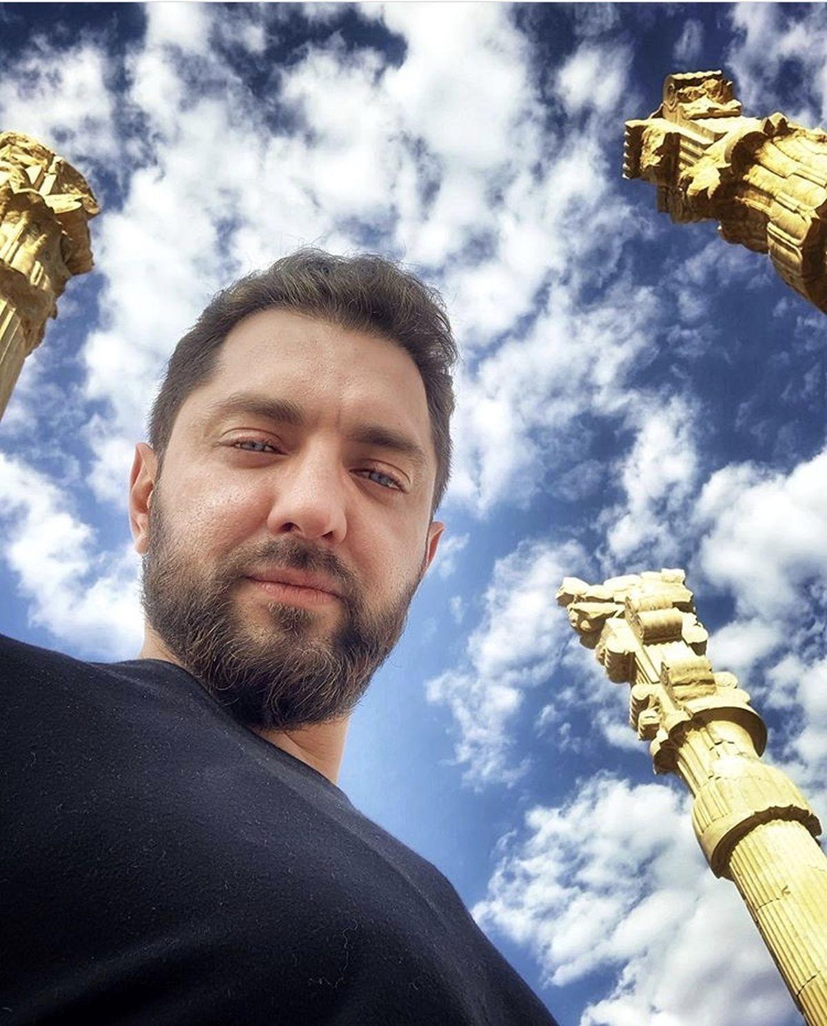 شیراز گردی های بهرام رادان + عکس