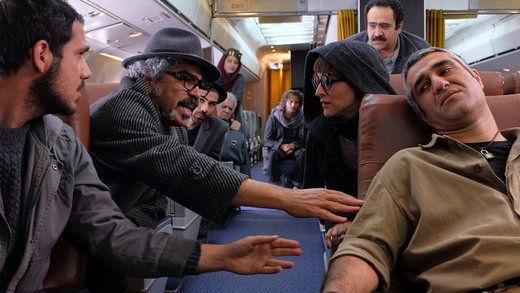 تازهترین تصاویر از مهران مدیری، رضا گلزار و هانیه توسلی در «ما همه باهم هستیم»