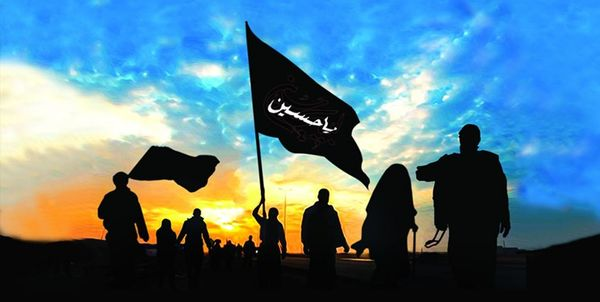 عکس ویژه اربعین 99/ در آسمان حسینیم