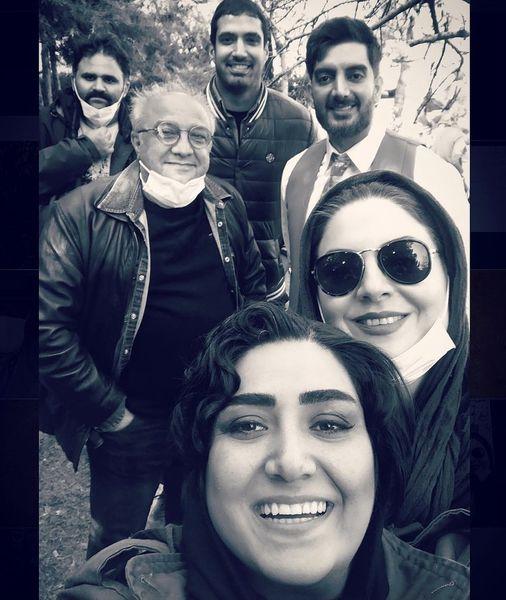 سلفی جدید بازیگران ملکه گدایان + عکس