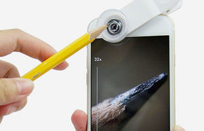 از موبایلتان میکروسکوپ بسازید