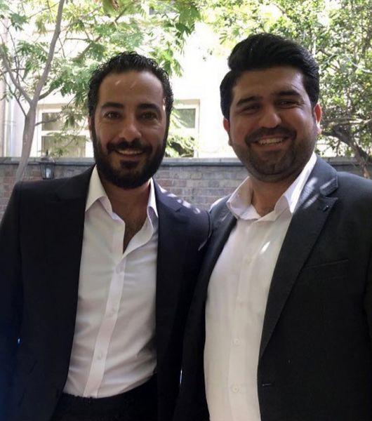 عقد نوید محمدزاده و فرشته حسینی در روز عید غدیر + عکس