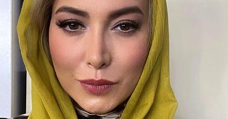 سلفی زیبای فریبا نادری با چهره میکاپ شده + عکس
