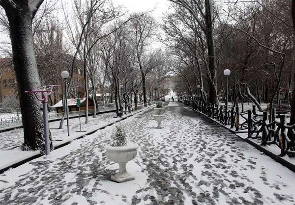 پیش بینی بارش برف پاییزی در ۴ استان