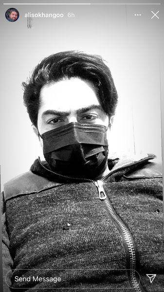 ظاهر متفاوتی از علی سخنگو + عکس
