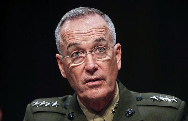 رییس ستاد مشترک ارتش آمریکا: درباره اهداف حمله به سوریه به روسیه اطلاع ندادیم