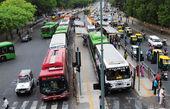 خط BRT راه آهن به تجریش قفل شد