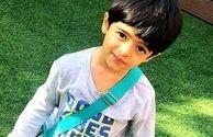 گریه و دلتنگی پسر مجید صالحی برای پدرش + عکس