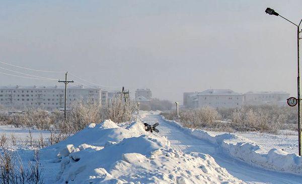 یخبندان عجیب در روسیه+ عکس