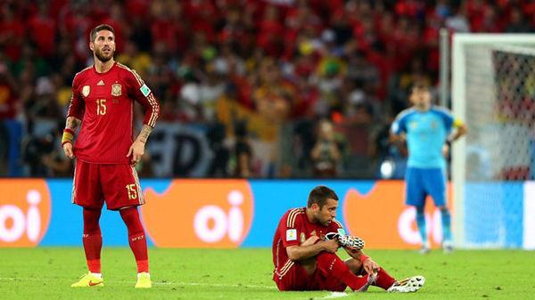 عطش اسپانیا برای بردن جام قهرمانی