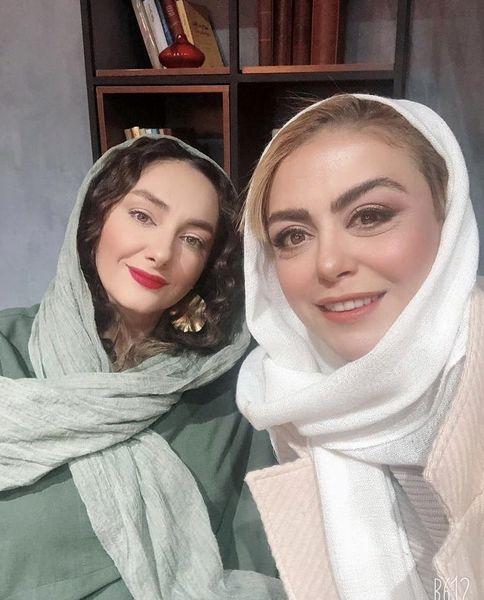 شبنم فرشادجو و هانیه توسلی در کنار هم + عکس