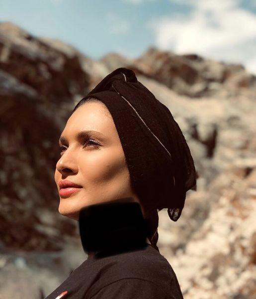 ظاهر جدید ساناز سعیدی + عکس