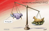 عدم توازن بین قیمت مرغ و نهادهها