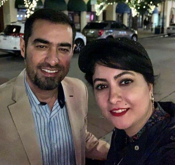 شهاب حسینی و بازیگر زن سریال دردسر والدین در آمریکا+عکس