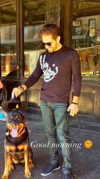 سگ بامزه بهرام رادان + عکس