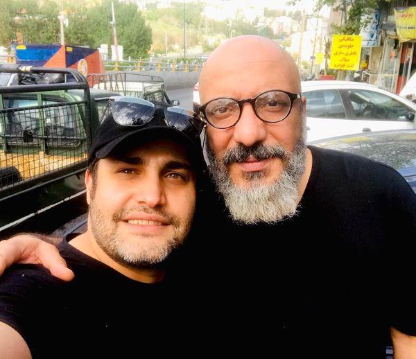بازیگر ستایش در آغوش امیر جعفری + عکس