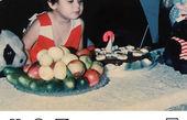 عکس کودکی فاطیما مجری شیرین زبون سال های گذشته