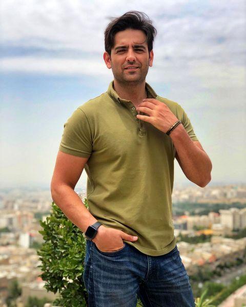 استایل تابستونی آقای امیرحسین آرمان + عکس