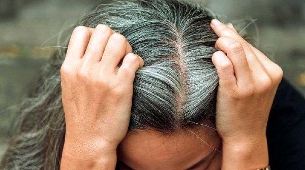 ترفندی برای احیای رنگ موهای سفید