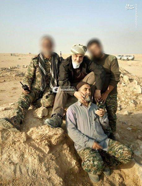 تصویر دیده نشده از حاج قاسم پس از نابودی حکومت داعش
