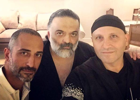 دورهمی علیرضا عصار با دوستانش + عکس