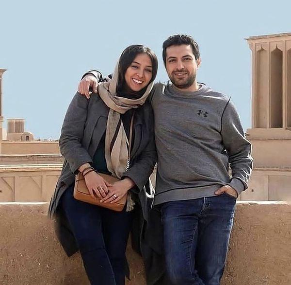 اشکان خطیبی و همسرش در سفر + عکس