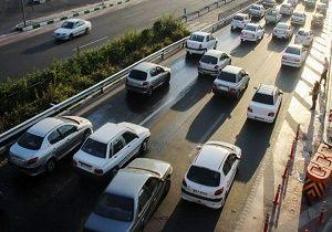 وضعیت ترافیک در جاده های کشور
