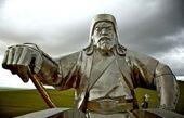 مردم مغولستان برای چنگیزخان یادبود گرفتند+عکس