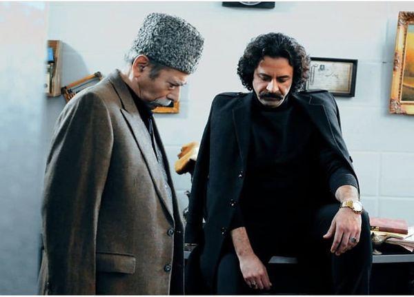 همبازی شدن بازیگر بانوی عمارت با پیشکسوت سینمای ایران + عکس