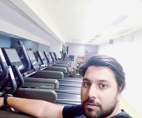 احسان خواجه امیری در باشگاه + عکس