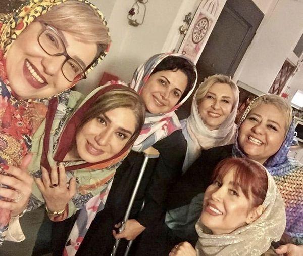 دورهمی شبانه خانمهای بازیگر + عکس
