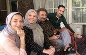 مهران احمدی و همکارانش + عکس