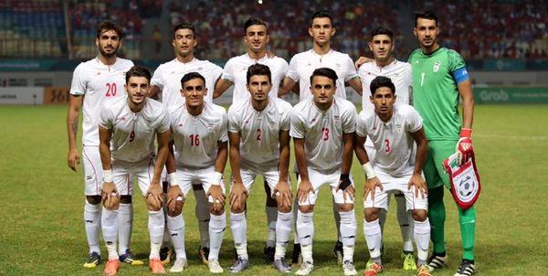 تهران میزبان دور اول مرحله مقدماتی فوتبال المپیک 2020