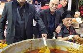 نذری پزون بازیگر معروف و پدرش+عکس