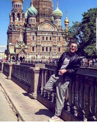 بازیگر دراکولا در روسیه + عکس