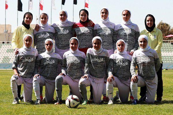 پیروزی پرگل تیم ملی فوتبال بانوان ایران مقابل افغانستان