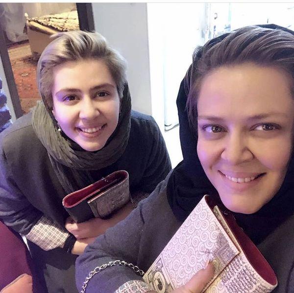 همسر سابق پیمان قاسمخانی و دخترش + عکس