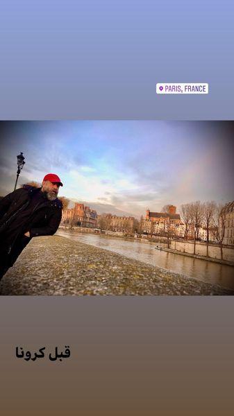 سفر بازیگر کلوپ همسران به فرانسه + عکس