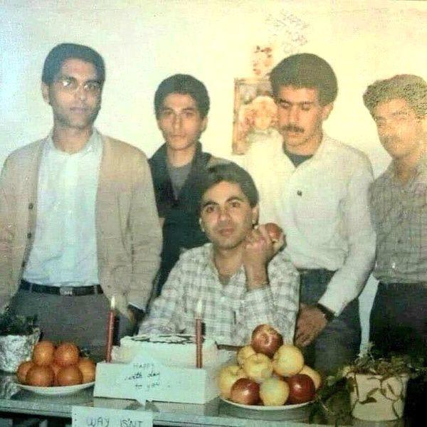 مهران مدیری و دوستان دوران دانشجوییش + عکس