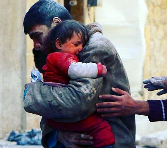 عکسی دلخراش در صفحه آزاده نامداری
