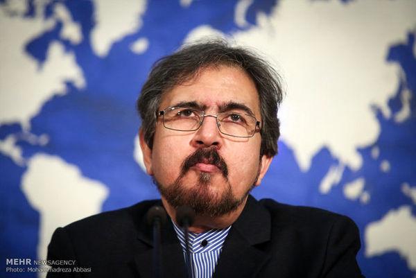 قاسمی جزئیات سفر « جرمی هانت» به تهران را تشریح کرد