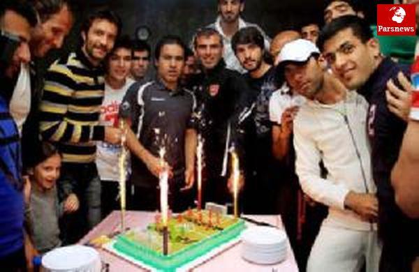 جشن تولد دو بازیکن پرسپولیس + عکس