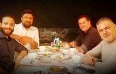 رستوران گردی محمد علیزاده با دوستانش + عکس