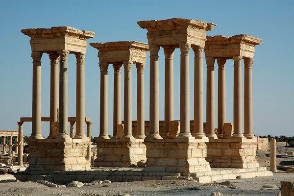 جاهای دیدنی ایران باستان در سوریه