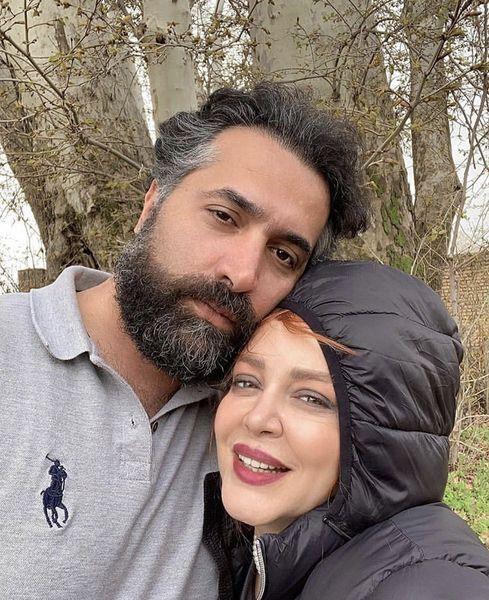 عاشقانه های بهاره رهنما و حاجی + عکس